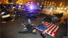 Protesters in Boston, 4 December 2014