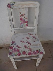 Love this chair Crate Furniture, Furniture Projects, Furniture Making, Furniture Makeover, Vintage Furniture, Cool Furniture, Painted Furniture, Front Porch Chairs, Shabby Chic Drawers