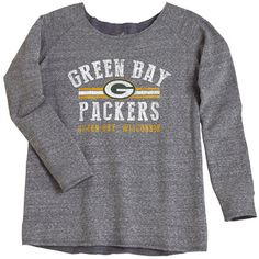 Green Bay Packers Women's Chase The Dream Pullover Crew at the Packers Pro Shop, $45.95