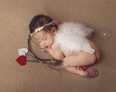 Valentine Newborn set Amor's Pfeil und Bogen von DesignedBySisters                                                                                                                                                                                 Mehr
