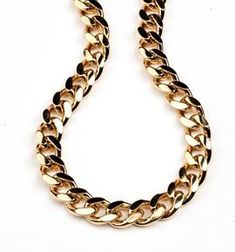For mens gold chains - does not come much more chunky than this.