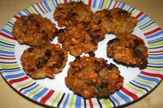Oats Spinach Vadai Serve hot with chutney.