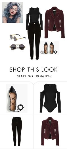 """""""Sorry for not updating just caught up in school. ~gustina :)"""" by gussy-styles ❤ liked on Polyvore featuring J.Crew, Topshop, River Island, Balenciaga and Spitfire"""
