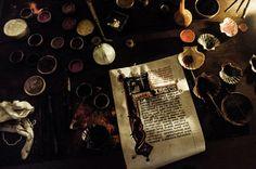 medievallove:    Il tavolo del miniatore by Stefano@Preda on Flickr.