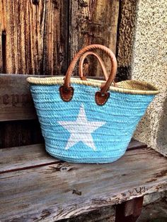 Strandtasche hellblau