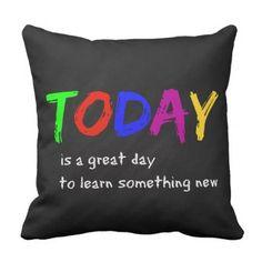 #teacher - #Today Throw Pillow