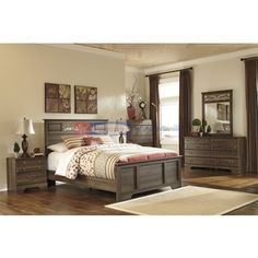 Signature Design Allymore B216 7 pc Queen Bedroom Set