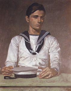Portrait of a sailor by Yannis Tsarouchis