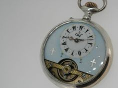 WOW Enameled Dial Hebdomas Pocket Watch for Ottoman Market Working | eBay
