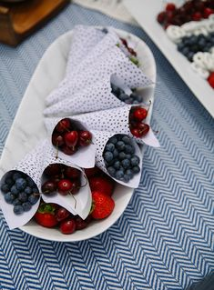 Red, White, and Blue 4th of July Desserts | In Honor Of Design