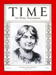 Dr. Montessori on the cover of Time Magazine