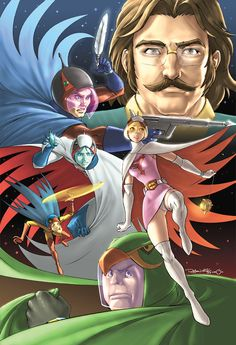 Battle of the Planets Cover by UdonCrew.deviantart.com on @deviantART