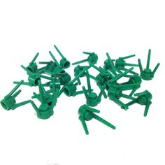 Lego Parts: Plant Flower Stems (PACK of 24 - Green)
