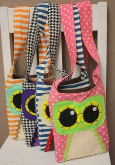 This links to an etsy shop, but I thought you would like the idea for making these bags.  They are cute!
