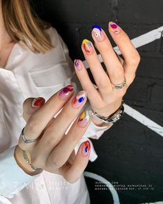 63 Cute Nail Designs for Every Nail Length & Season: Cute Nails to Try How to apply nail polish? Nail polish on your friend's nails looks perfect, neverthe Nail Design Stiletto, Nail Design Glitter, Nails Design, Salon Design, Cute Nails, Pretty Nails, My Nails, Hair And Nails, Modern Nails
