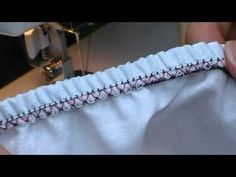 Sewing Basics #2: 7 Ways to Attach/Use Elastic - YouTube