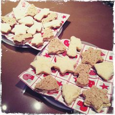 kerst broodjes/ sandwiches for the kids
