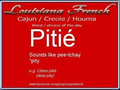 French Cajun words