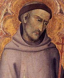 San Francesco d'Assisi in un ritratto di Andrea Vanni