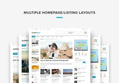 SuperNews Ultimate WordPress Magazine Theme Nulled Free Download