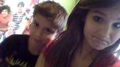 I havn't put a pic of me on here in a while so here you go...a pic of me and my little brother