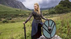 Largetha, shield maiden and earl - Vikings tv series