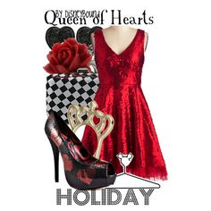 """""""Queen of Hearts"""" by lalakay on Polyvore"""