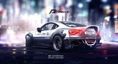 Speedhunters Toyota GT 86 Need for speed tribute, Yasid Oozeear on ArtStation at https://www.artstation.com/artwork/speedhunters-toyota-gt-86-need-for-speed-tribute