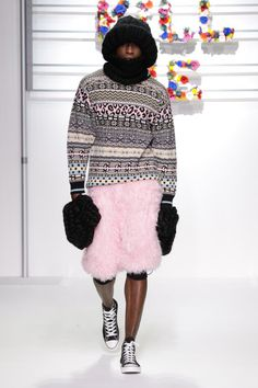 Honestly - what woman wouldn't want the dude in the fun-fur shorts with the cheetah print fair-isle?
