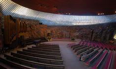 Temppeliaukio Church Helsinki Finland (Timo & Tuomo Suomalainen 1969)