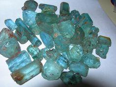 stone jewelry | Blue: Aquamarine, Turquoise, Sapphire