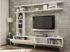 How and where to make a modern TV cabinet design? Modern Tv Cabinet, Modern Tv Wall Units, Tv Unit Decor, Tv Wall Decor, Wall Tv, Tv Unit Interior Design, Tv Wall Design, Tv Wall Cabinets, Living Room Tv Unit Designs