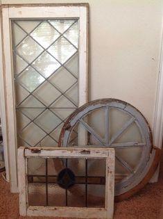 The Farmhouse Porch: Antique Windows