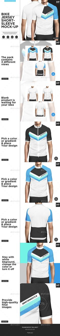 Bike Jersey Shortsleeve Mock-up c62652768