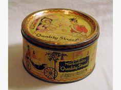 Mackintosh's Quality Street, old tin.
