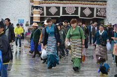тибетские девушки