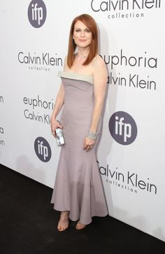 Julianne Moore in Calvin Klein at the Women in Film event.