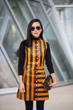 Louis Vuitton dress   - HarpersBAZAAR.com