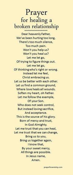 Relationship healing