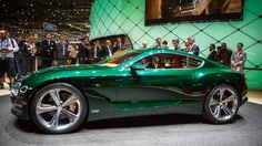 Bentley is known for big, heavy and expansive grand tourers. For its latest concept, the company has crafted something a little more svelte.