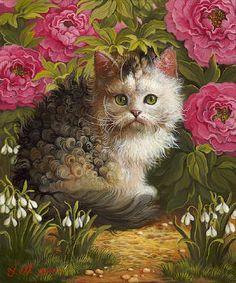 Artist: Yana Movchan  Title: Kitty