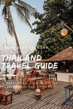 Two week island hopping itinerary Thailand Travel Guide, Asia Travel, Thailand Island Hopping, Happy Hour Specials, Thai Islands, Beach Weather, The Longest Journey, Beach Bungalows, Beach Bars
