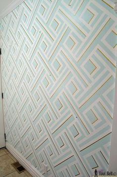 Paint patterns with tape modern wall design with painters tape wall paint ideas using tape . Modern Wall Art, Wall Painting, Wall Design, Interior Paint, Modern Wall, Cool Walls, Wall Paint Designs, Modern Wall Art Diy, Geometric Wall