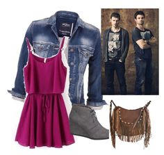 """""""The choice between good and evil"""" by winchesterh on Polyvore featuring maurices and Liquorish"""
