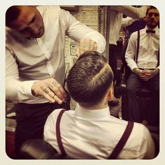 Haircutting should be a stylish experience, no! :-)