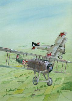 Spad VII C.1 by Seweryn Fleischer | War Wallpapers
