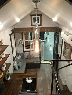 Tiny House Interior - Sweetgrass by Driftwood Homes