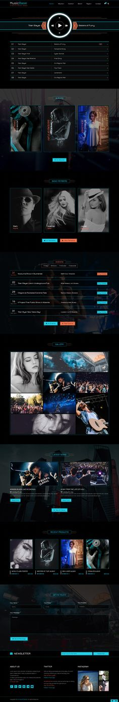 Musicbase is an ideal choice for customers who want to design an amazing music website. It offers a modern and clean design that never fails to impress. This template can be used to improve any web page. --  Check it out now! | Just $19.    https://themeforest.net/item/musicbase-band-artist-radio-html-template/18200280?ref=future-themes