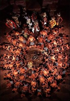 Kecak Bali Dance - Indonesia