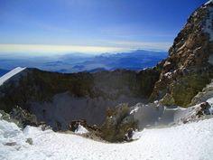 Pico de Orizaba or Citlaltépetl /crater